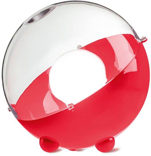 Koziol Gulvlampe Orion Gjennomsiktig, Rød