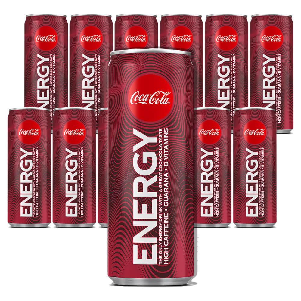 Coca Cola Energy 25 xl x 12