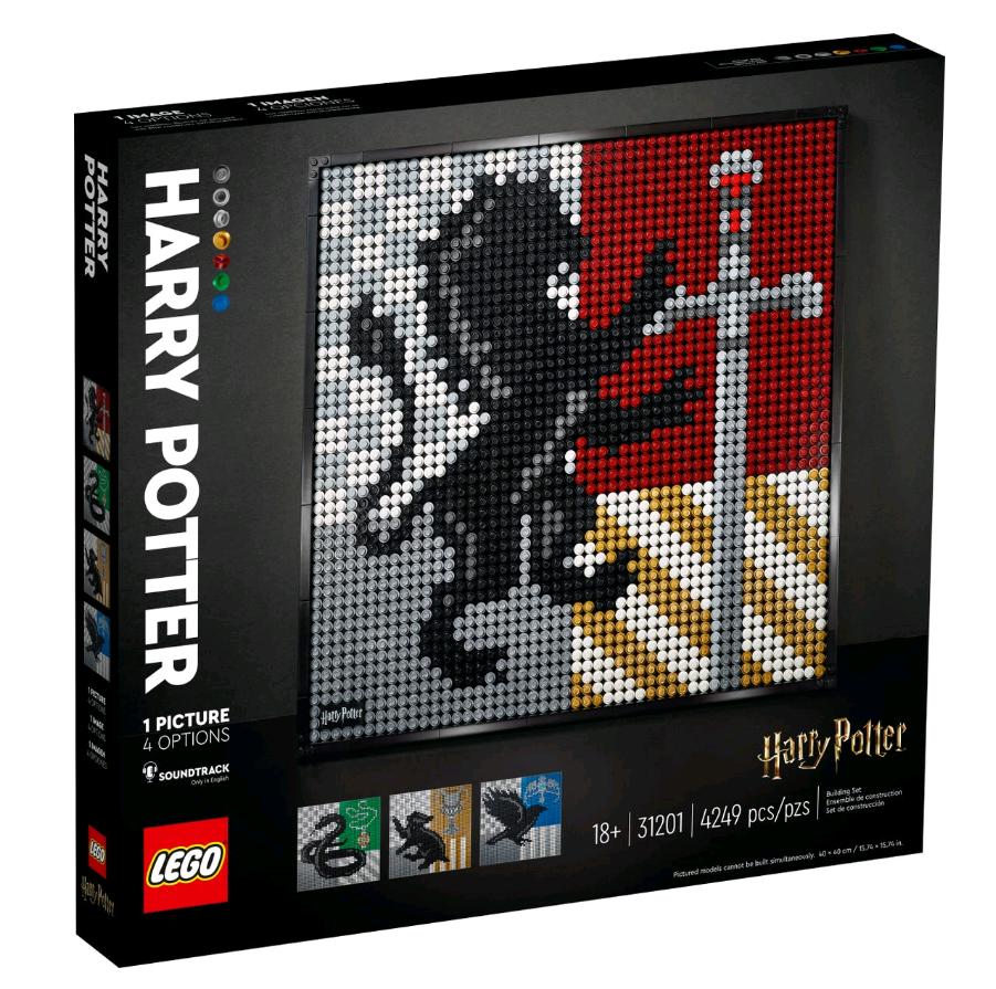 LEGO ART - Harry Potter™ Hogwarts™ Crests (31201)