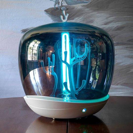 Slamp PurityCapsule LED-bordlampe, UV-C, hvit