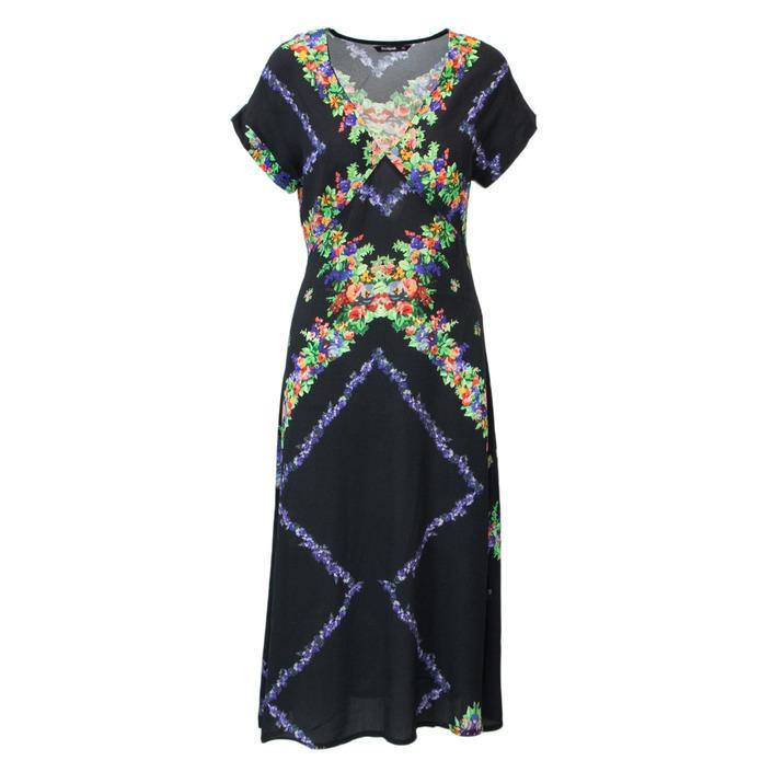 Desigual Women's Dress Black 165222 - black 38