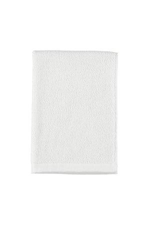 Håndkle Bomull/lin 50x70 – Hvit