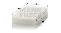 Raitisilmasuodatin MANN-FILTER CU 2327-2