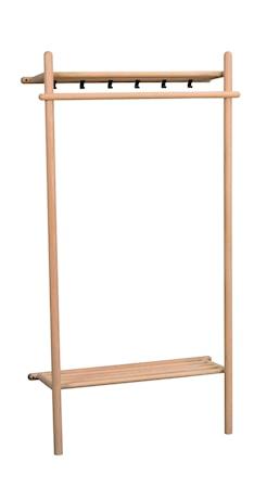 Milford Klädställning Ek 90x180 cm