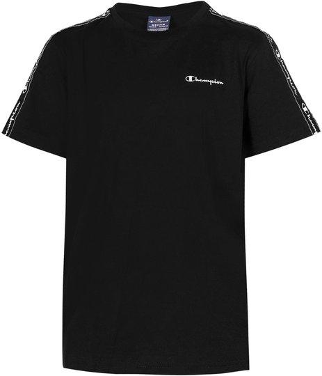 Champion Kids Crewneck T-Shirt, Black Beauty XS