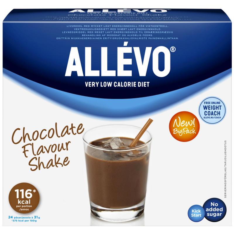 """Måltidsersättning Shake """"Chocolate"""" 24 x 31g - 50% rabatt"""