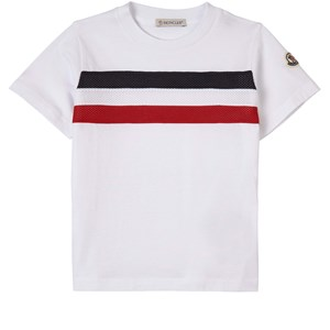 Moncler Logo T-shirt Vit 14 år