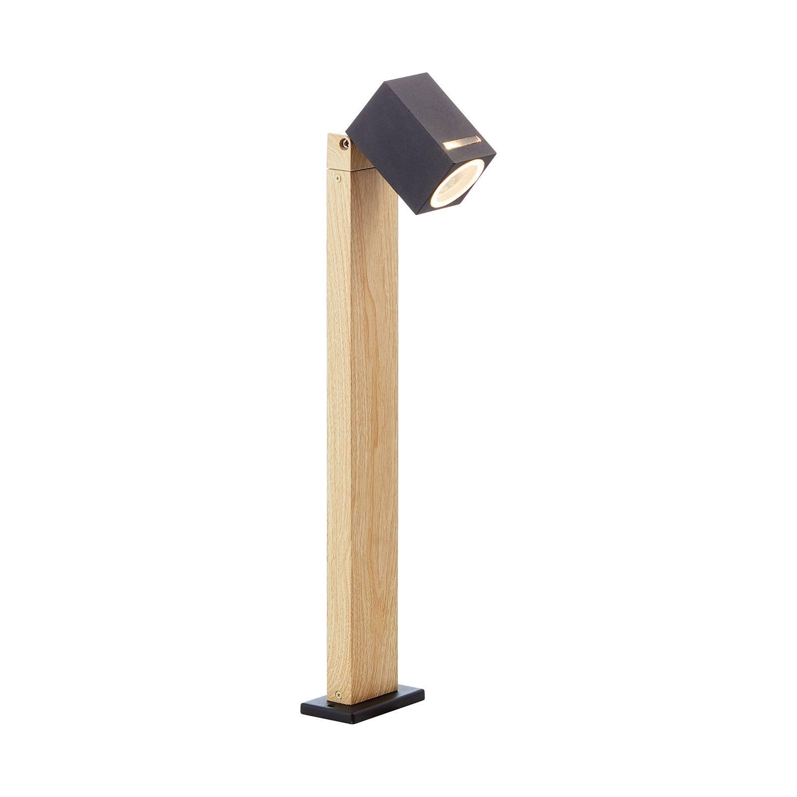 Pollarilamppu Galeni puujälj käännettävä varjostin