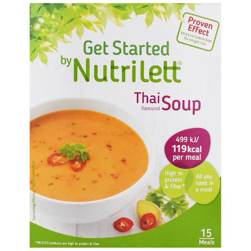"""Måltidsersättning """"Thai Soup"""" 15 x 33g - 38% rabatt"""