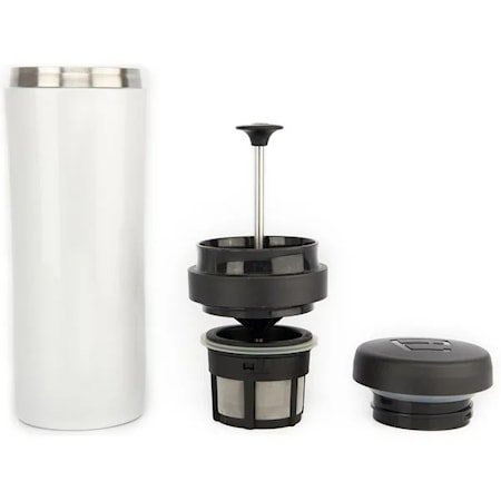 Espro Travel Presskanne Hvit, termo, kaffe