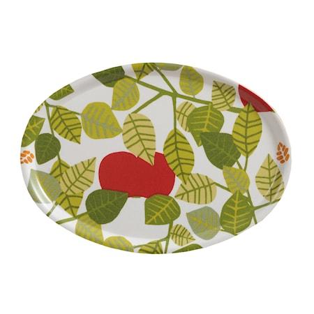 Apple Bricka Grön 31x22 cm