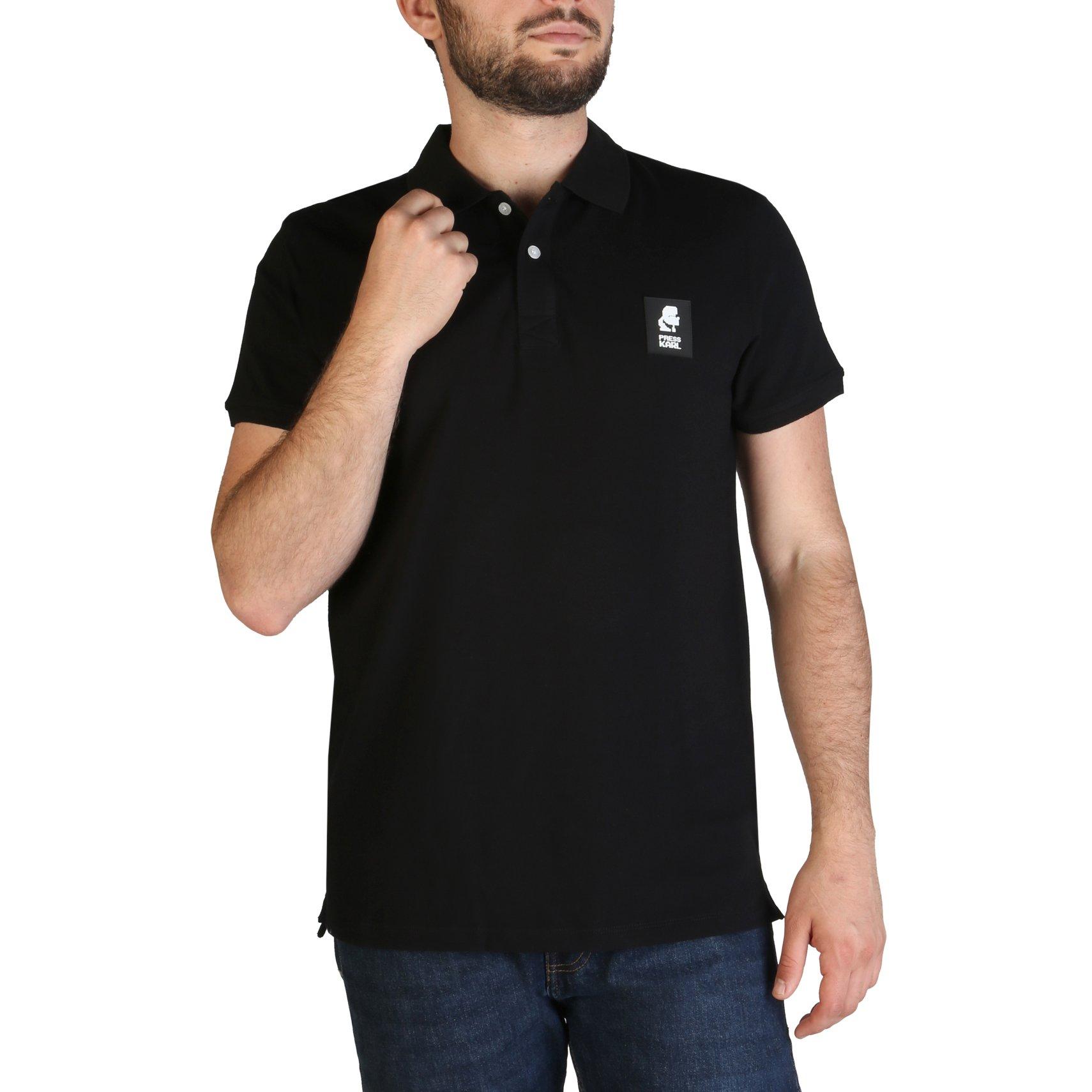 Karl Lagerfeld Men's Polo Shirt Various Colours KL21MPL01 - black M