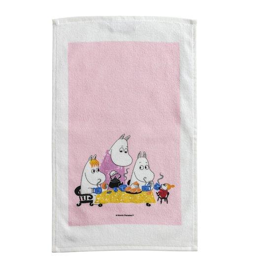 Opto Design - Mumin Handduk Teparty 50x30 cm Rosa
