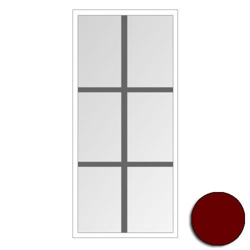 Optimal/Excellent Sprosse 21, 1800/2, Burgund