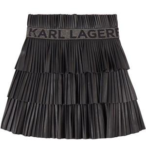 Karl Lagerfeld Kids Logo Kjol Svart 4 år