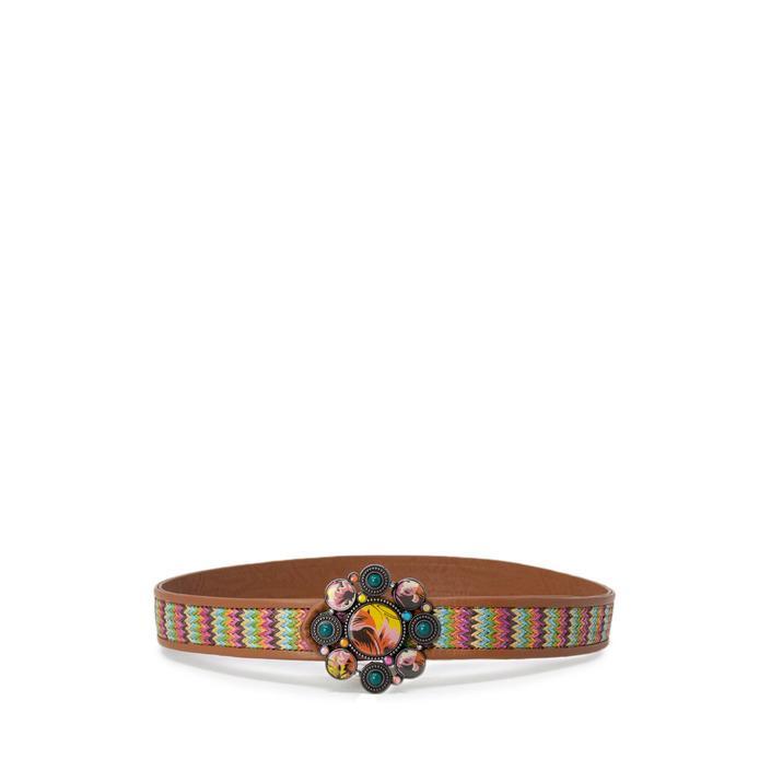Desigual Women's Belt Pink 169785 - pink 95
