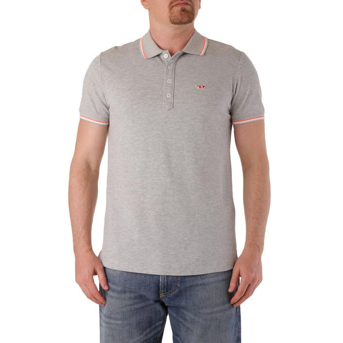 Diesel Men's Polo Shirt Grey 283940 - grey L