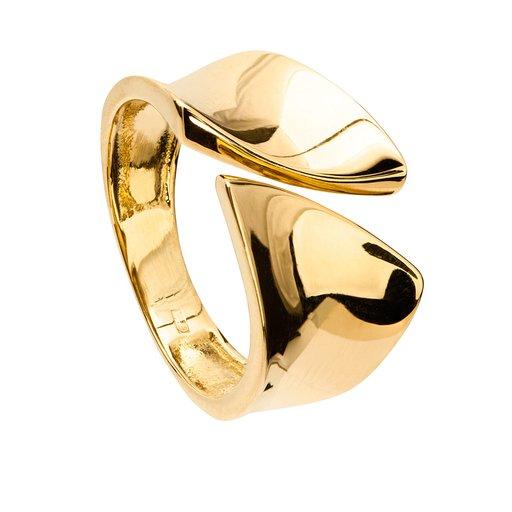 Ring i 18K guld, 17.0