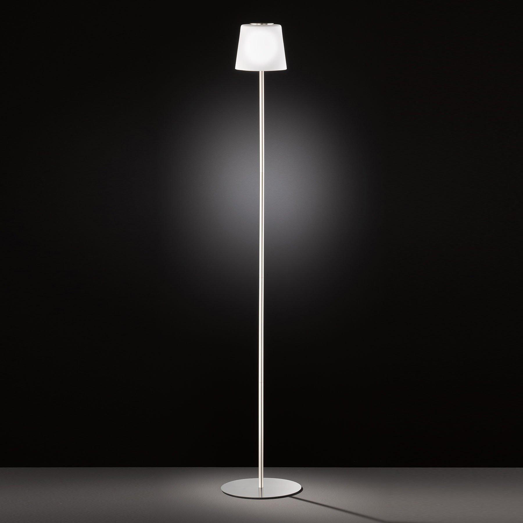 LED-gulvlampe Genk med batteri og touchdimmer