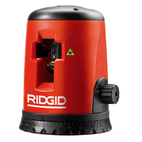Ridgid Micro CL-100 Laser jopa 30 m, jalusta ja suojalasit