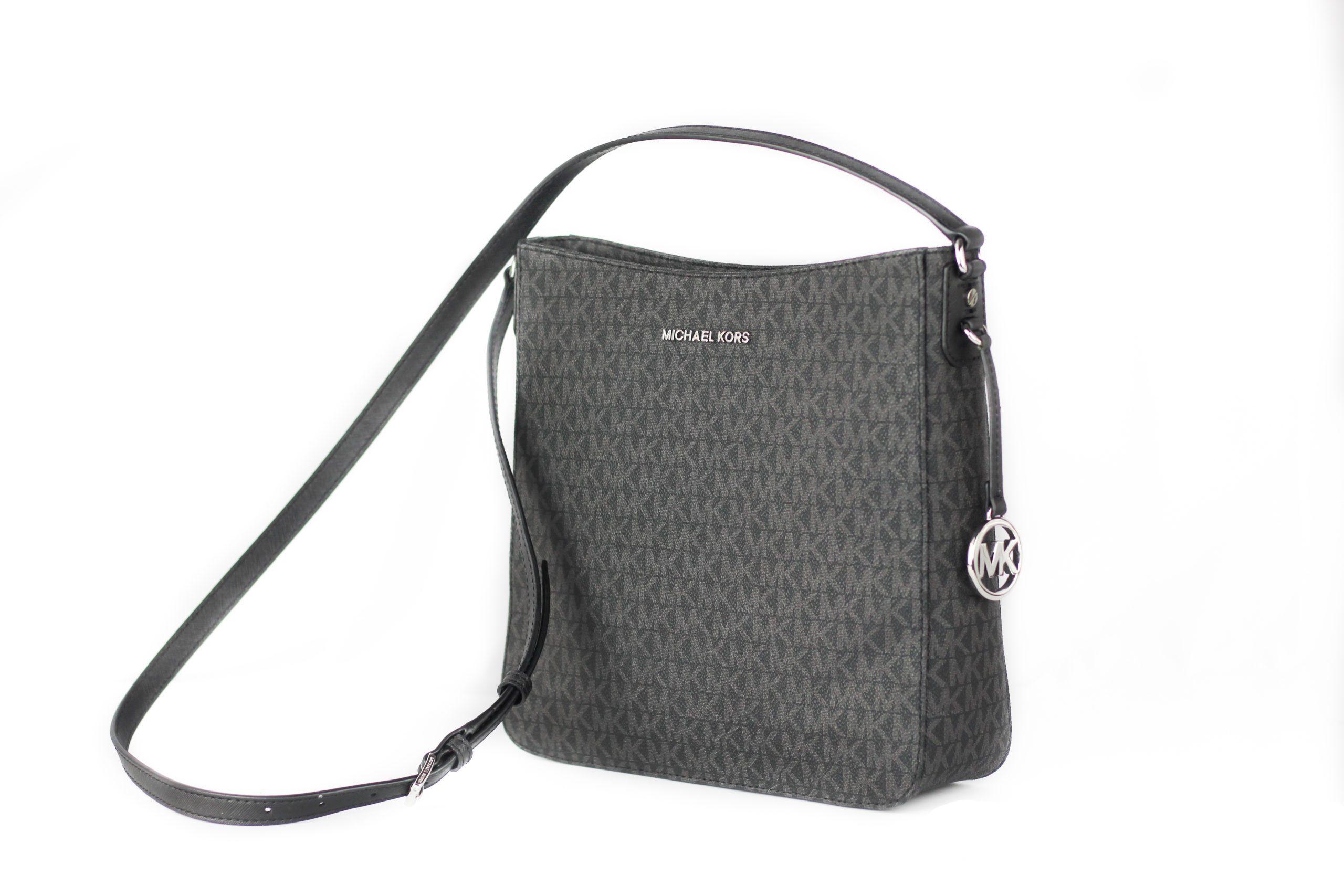 Michael Kors Women's Jet Set Crossbody Bag Black 82509