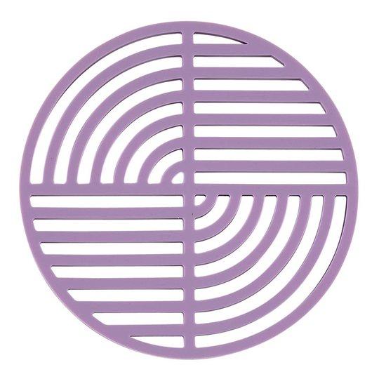Zone Denmark - Circle Grytunderlägg Silikon 16 cm Lavendel