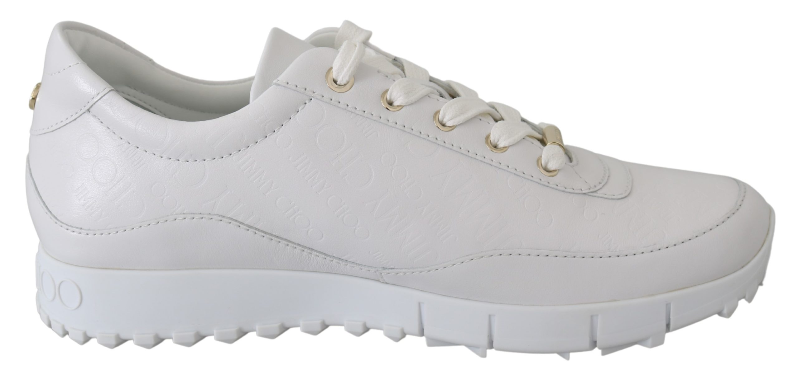 Jimmy Choo Women's Monza Sneakers White 192954492717 - EU38/US8