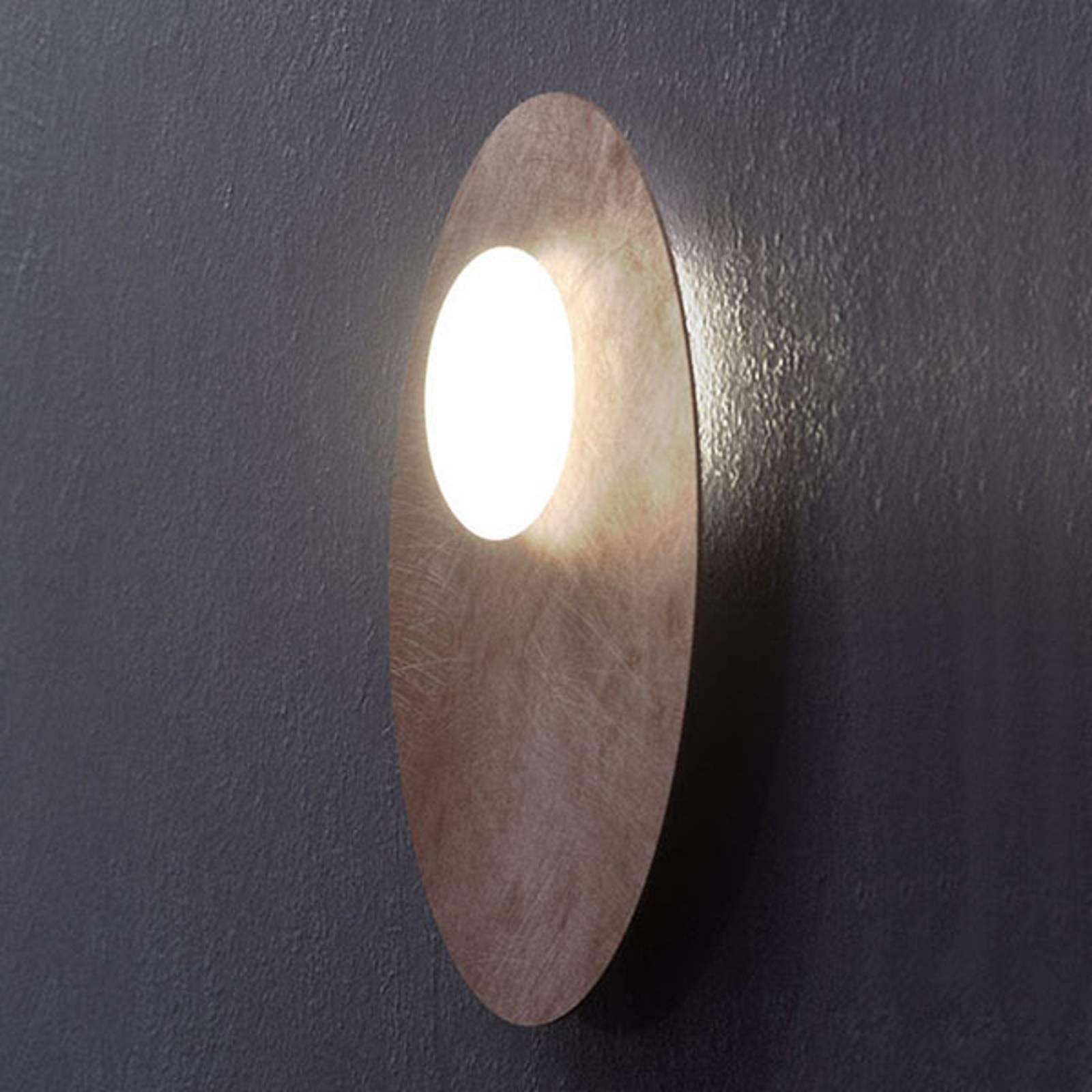 Axolight Kwic LED-kattovalaisin, pronssi, Ø 48 cm