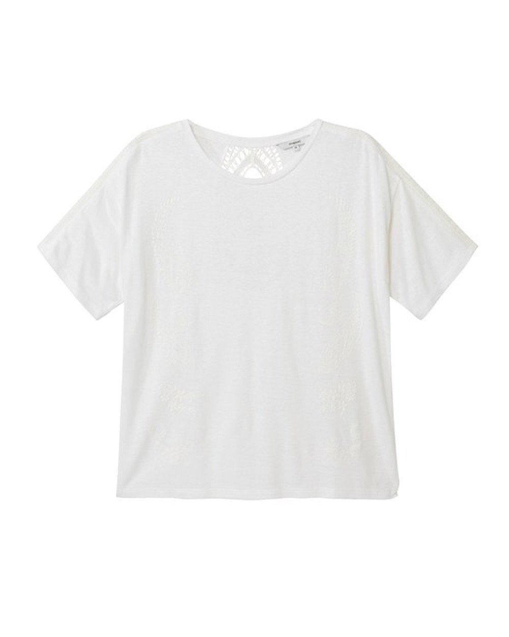 Desigual Women's T-Shirt Various Colours 263185 - white S