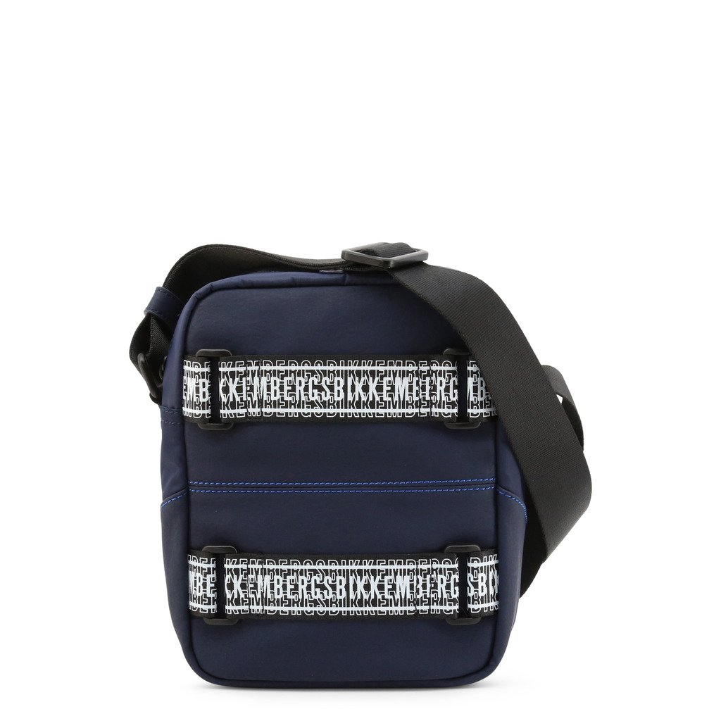 Bikkembergs Men's Crossbody Bag Blue E4APME3A0012 - blue NOSIZE