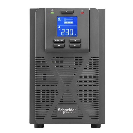Schneider Electric SRVS2KI UPS 230 V, yksivaiheisille laitteille 1600 W