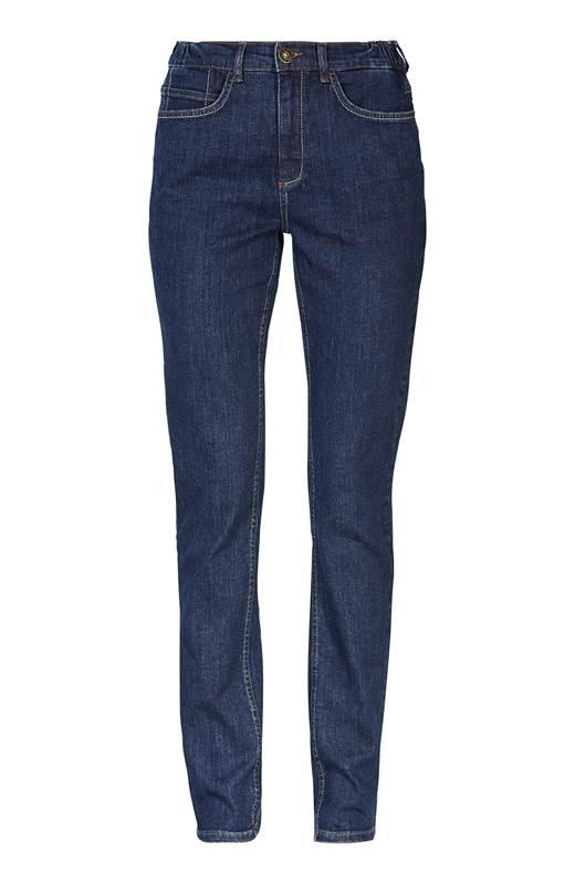 Cellbes Jeans med resår i sidorna Elsa Mörkblå
