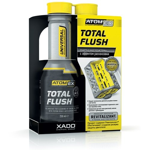Moottoriöljylisäaine XADO ATOMEX TOTAL FLUSH