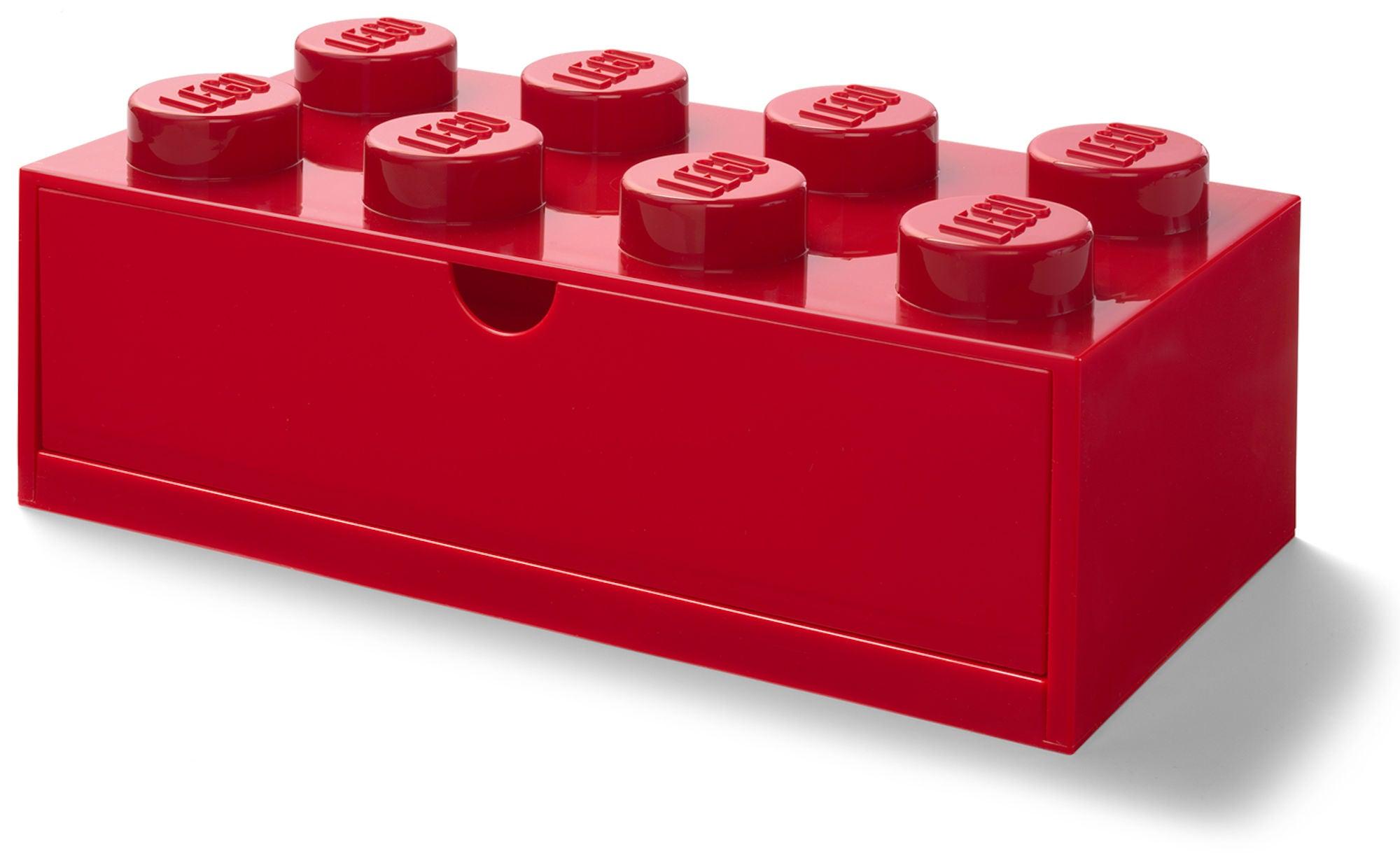 LEGO Säilytyslaatikko 8, Punainen