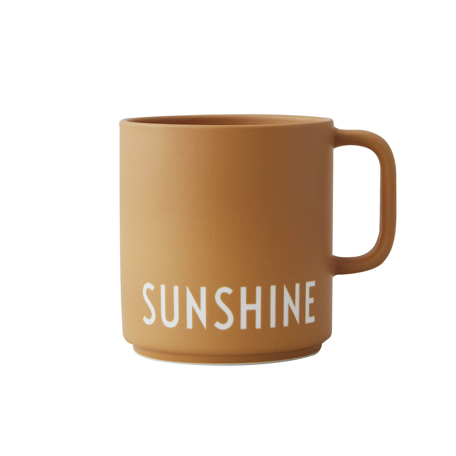 Design Letters - Favourite Cup With Handle - Sunshine (10101008SUNSHINE)