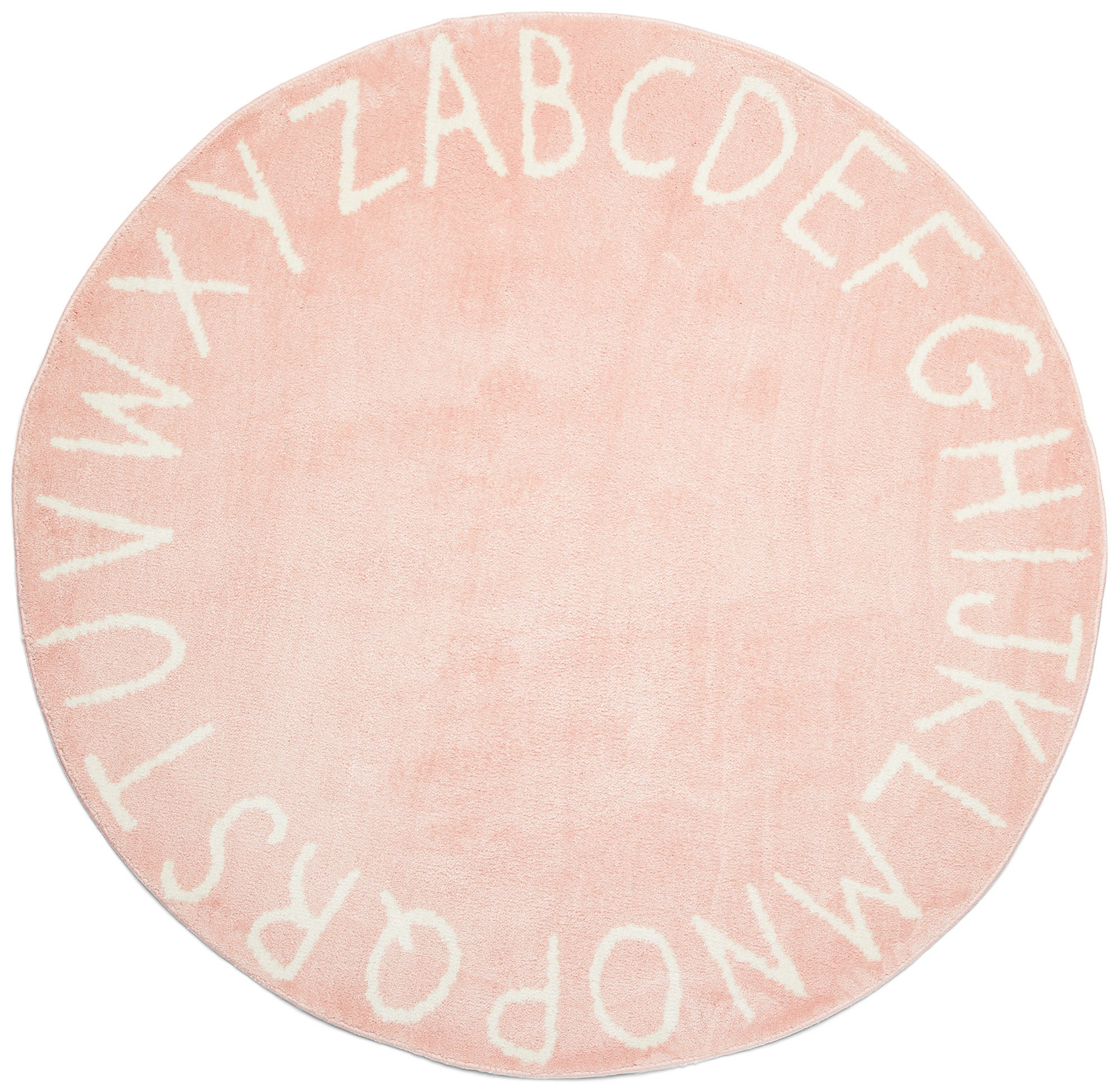 Alice & Fox Matto Kirjaimet 150 cm, Vaaleanpunainen