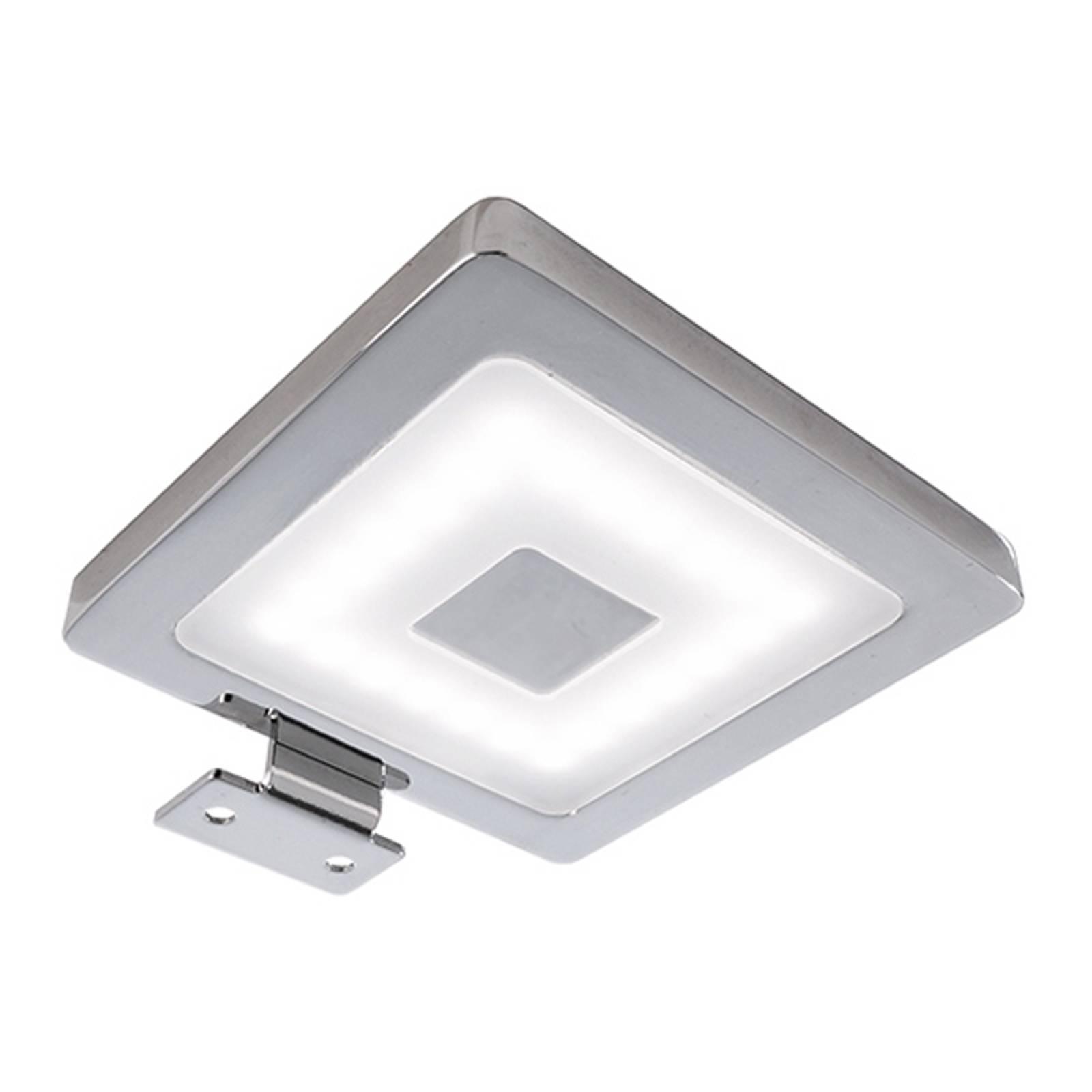 Kulmikas pinta-asennettava LED-kalustevalo Peili