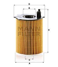 Öljynsuodatin MANN-FILTER HU 7033 z