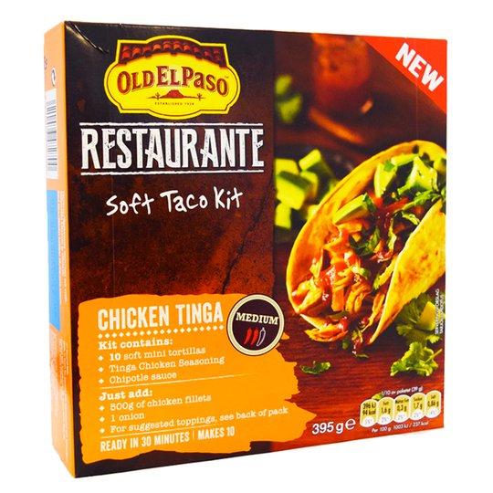 """Taco-kit """"Chicken Tinga"""" - 75% rabatt"""