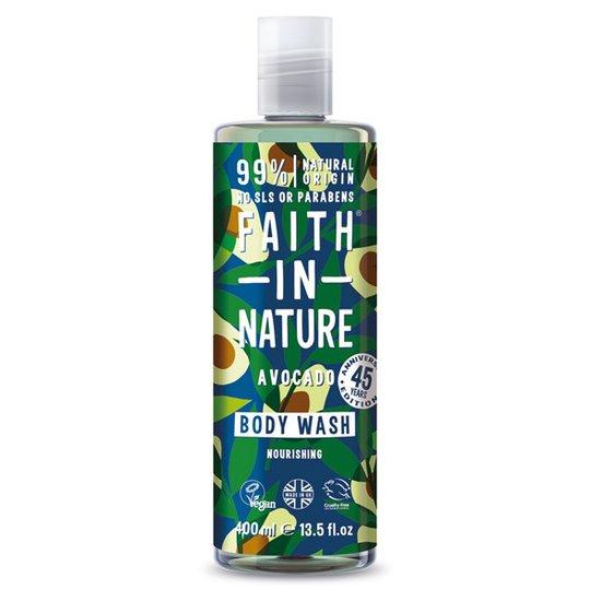 Faith in Nature Avocado Body Wash, 400 ml