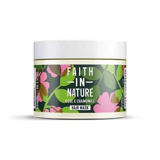 Faith in Nature Rose & Chamomile Restorative Hair Mask, 300 ml