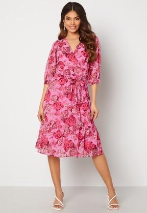 Happy Holly Linn midi dress Pink 32/34