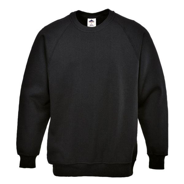 Portwest Roma Sweatshirt svart XS