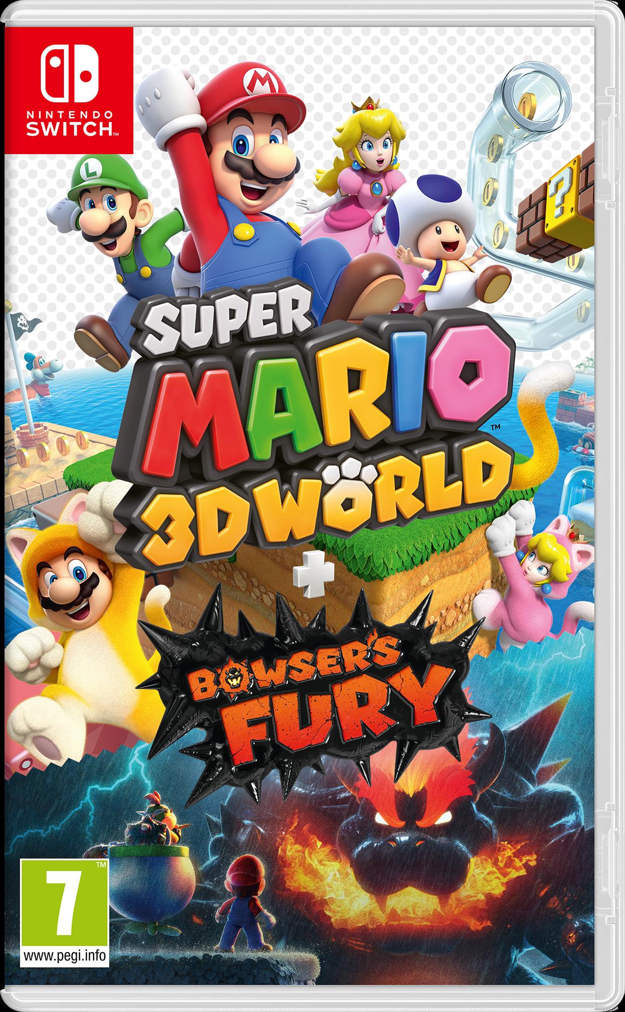 Super Mario 3D World + Bowser's Fury (UK, SE, DK, FI)
