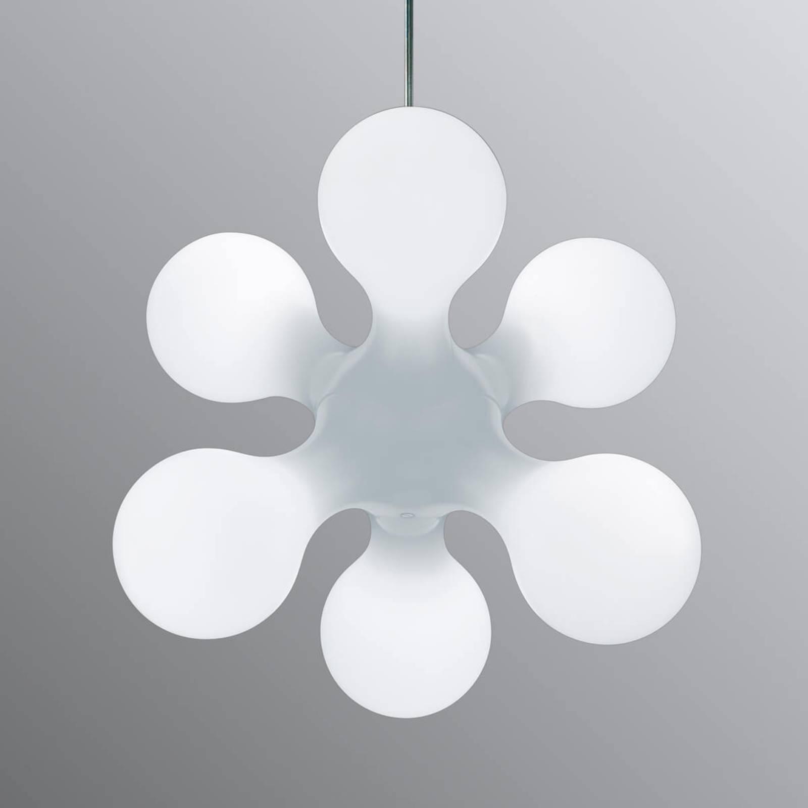 Tyylikäs design riippuvalaisin Atomium