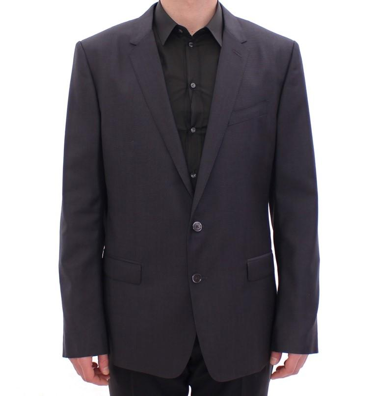 Dolce & Gabbana Men's slim fit MARTINI wool Blazer Gray GSD11038 - IT54 | XXL