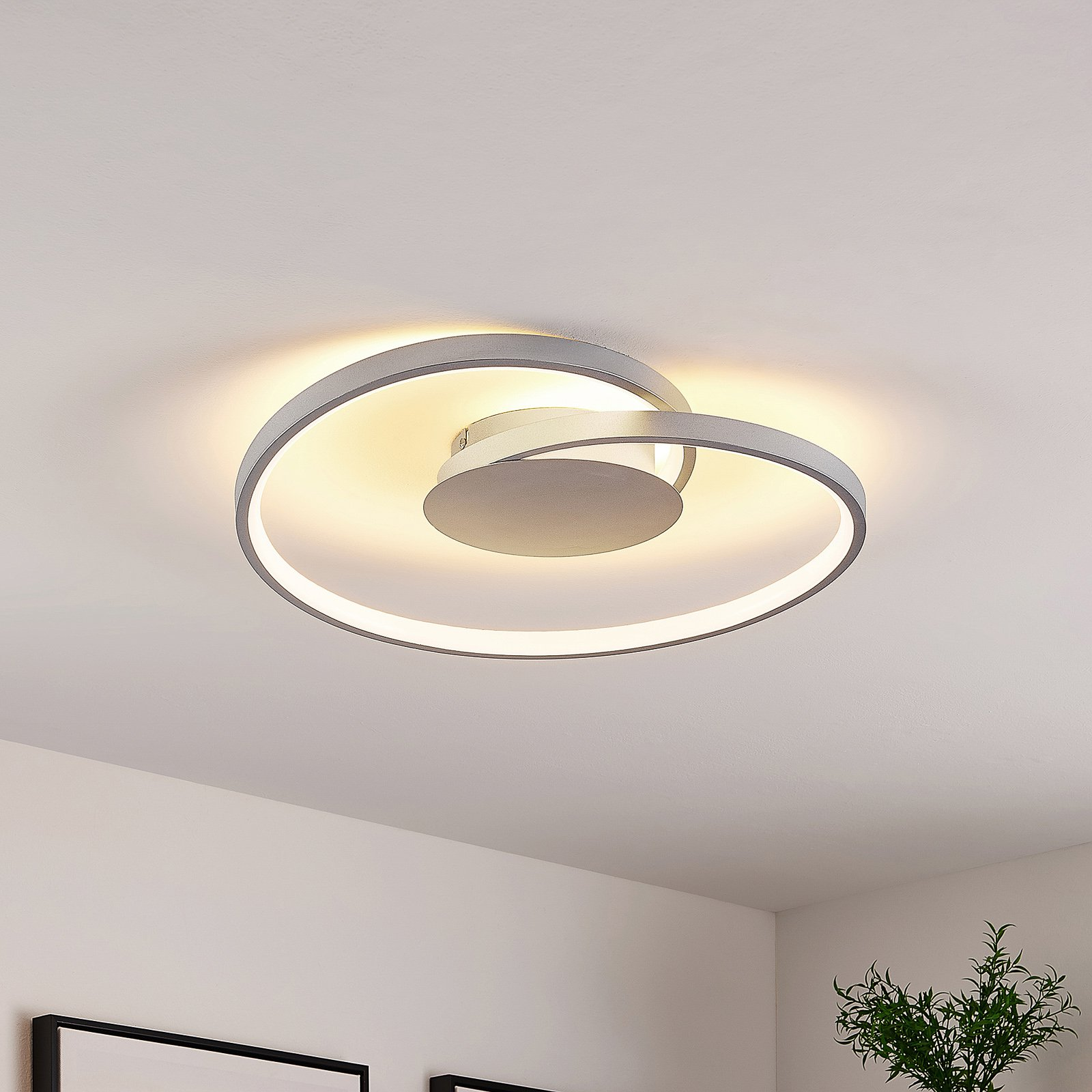 Lucande Enesa LED-taklampe, rund