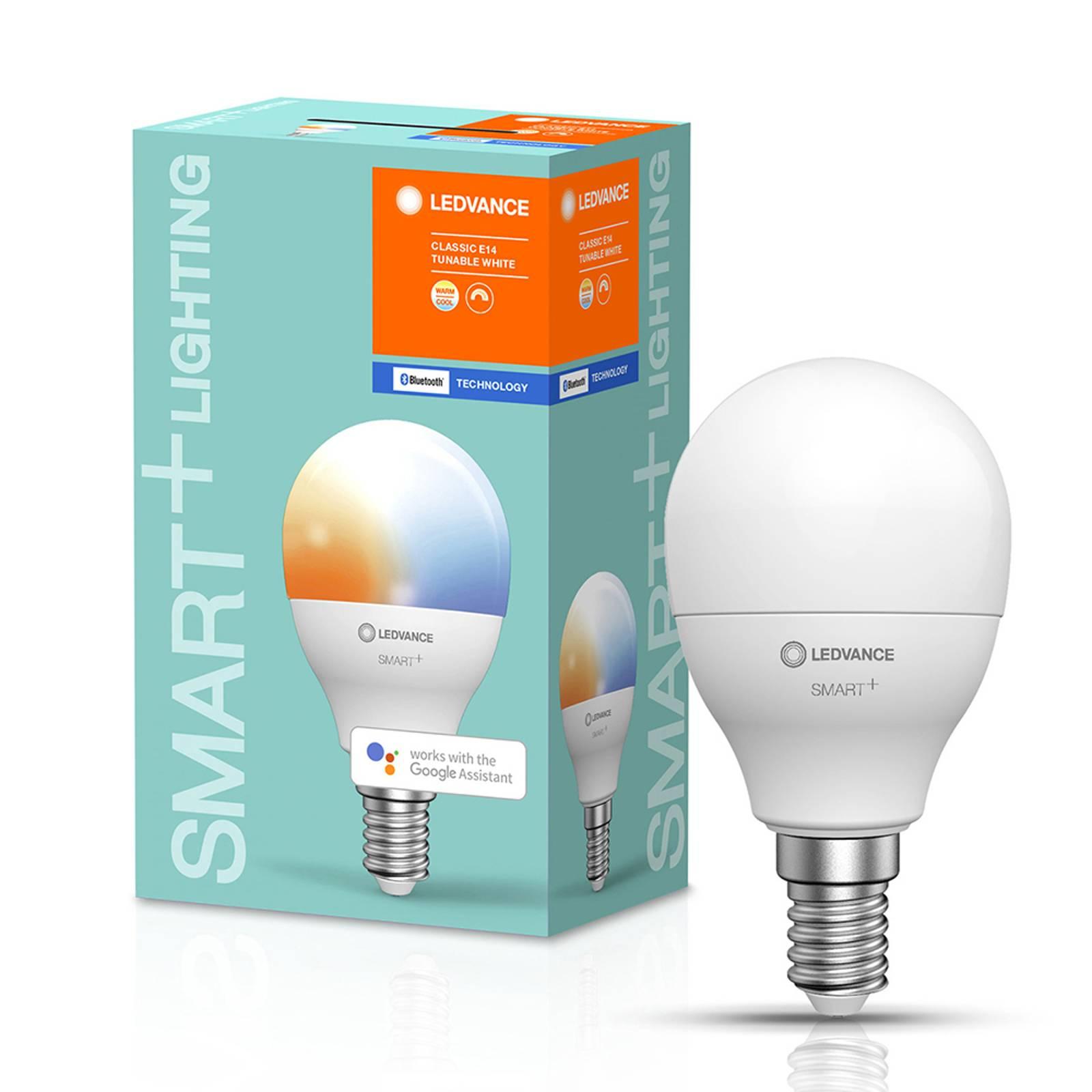 LEDVANCE SMART+ Bluetooth E14 LED pisara 5W CCT
