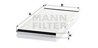 Raitisilmasuodatin MANN-FILTER CU 6076