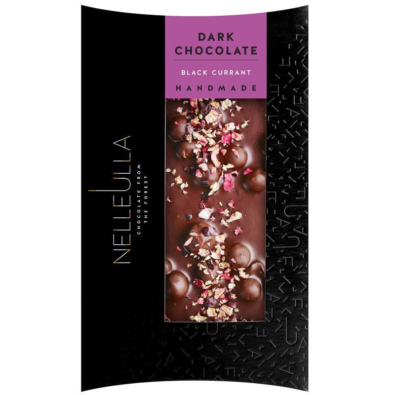 Mörk Choklad Svartvinbär 80g - 67% rabatt